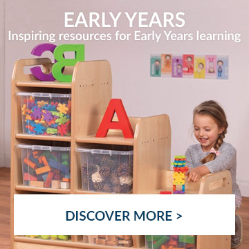 Inspiring resources from Early years - view now