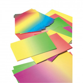 A4 Rainbow Paper and Card