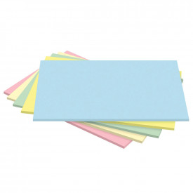 Medium Thick Card - Mixed Pastel Colours