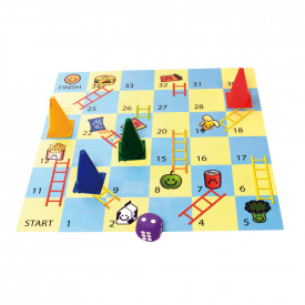 Snacks and Ladders Game Set