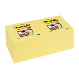 Post-it® Super Sticky Notes Canary Yellow