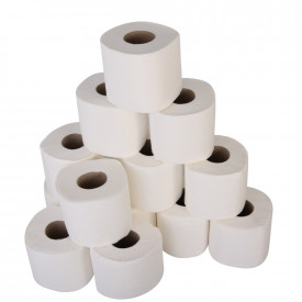 Luxury 2 Ply White Toilet Rolls
