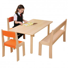 Rectangular Beechwood Tables