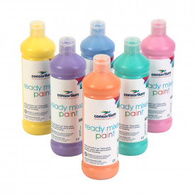 Consortium Pastel Ready Mixed Paint Pack