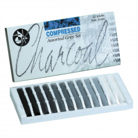 Assorted Compressed Charcoal