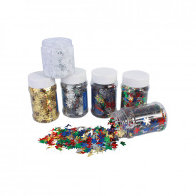 Tubs of Sequins