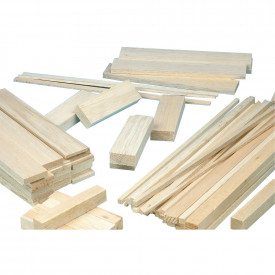 Balsa Wood - Thin Sheet 100mm