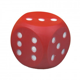 Large Plastic Dice