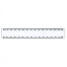 Clear Shatter Resistant 15cm Rulers
