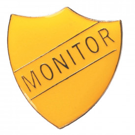 Monitor Shield Badge
