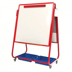 Mobile Magnetic Display / Storage Easel