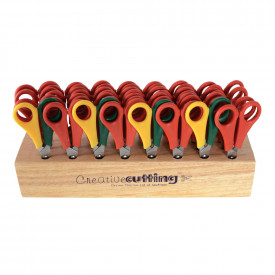 Wooden Rack and Scissors