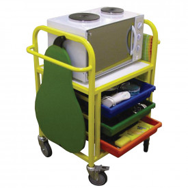 Compact Cooking Trolley
