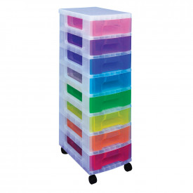 8 x 7 Litre Really Useful Drawer Unit