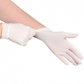 Consortium White Synthetic Powder Free Gloves