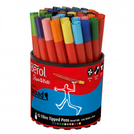 Berol Colourbroad Assorted Packs
