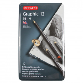 Derwent Graphic Soft Sketching Pencils