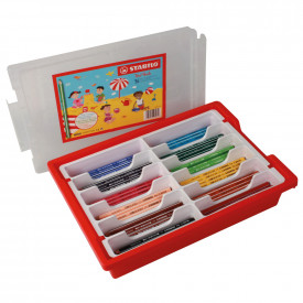 STABILO® Trio Thick Colouring Pencil Classpack