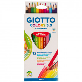 Giotto Colours Watercolour Pencils