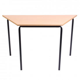 MDF Edge Crushbent Frame Trapezoidal Tables 1100mm(w) x 550mm(d)