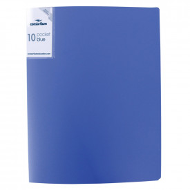 Budget Essentials A4 Soft Cover Display Book - 60 Pockets