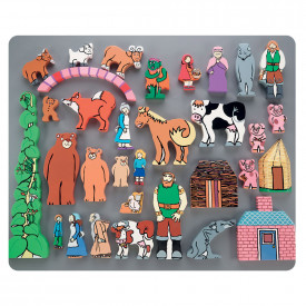 Traditional Tales Wooden Character Set
