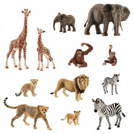 Schleich African Mums and Babies Set