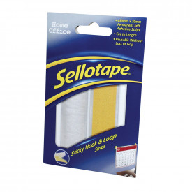 Sellotape® Sticky Hook and Loop Strips