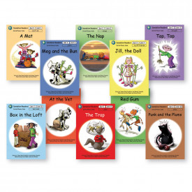 Dandelion Readers, Set 2, Units 1-10