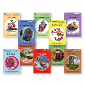 Dandelion Readers, Set 3, Units 1-10