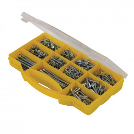 Zinc-plated Countersink Screw Pack
