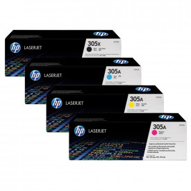 HP 305A Toner Cartridges