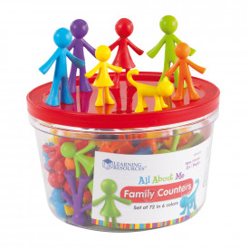 All About Me Family Cards & Counters