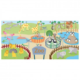 Zoo Animals Mural