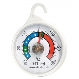 Dial Fridge & Freezer Thermometer