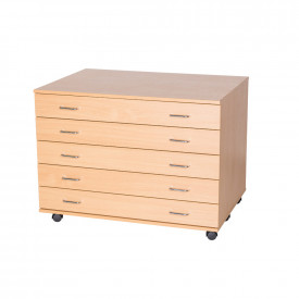 5 Drawer Plan Chest