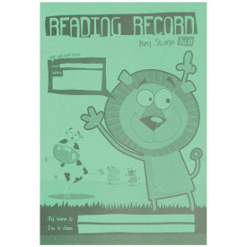 Reading Record Book - KS2
