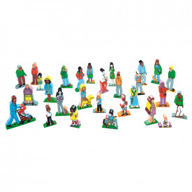 Families and Friends Wooden Character Set