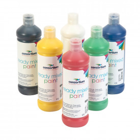 Consortium Standard Colours Ready Mixed Paint Pack