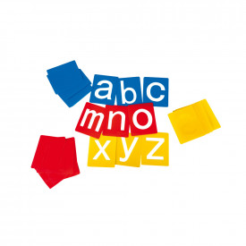 Lowercase Alphabet Stencils