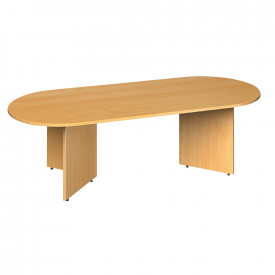 Arrowhead Radial End Boardroom Table