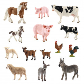 Schleich Farm Mums and Babies Animal Set