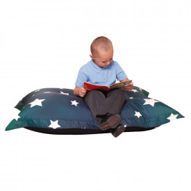 Star Print Kids Giant Bean Bag