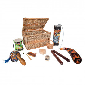 Small Multicultural Percussion Basket