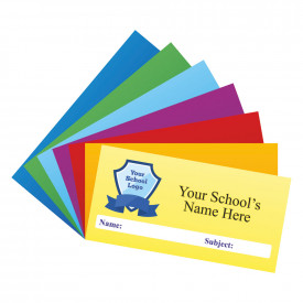 Personalised Logo Coloured School Stickers - Small