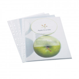 Rapesco Eco Punched Pockets - 60 Micron