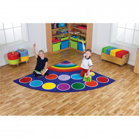 Rainbow™ Corner Placement Carpet