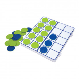 Connectible Ten Frame Trays