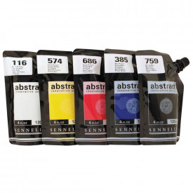 Sennelier Abstract Introductory Acrylic Paint Set