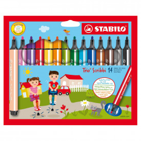 STABILO® Trio Scribbi Colouring Pens